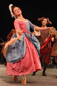 Dancer Maggi Sweeney Smith in costume